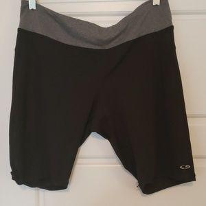 Worn once champion bike shorts